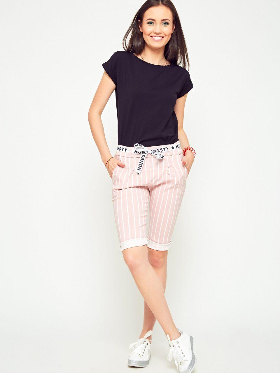 Modne stylizacje damskie na lato z wykorzystaniem krótkich spodenek