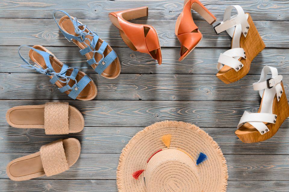 Wady i zalety noszenia sandałów